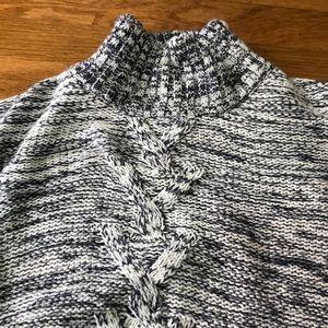 Girls knit poncho